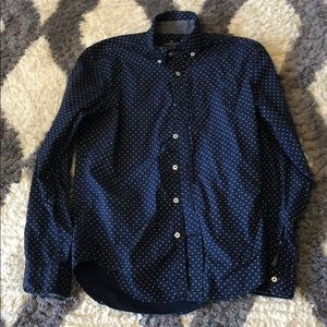 American Eagle AE Classic Fit Button Down Blue XS